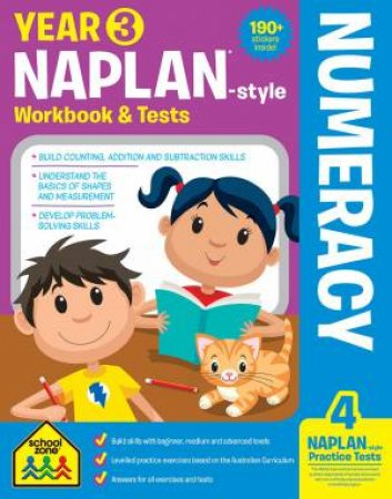 School Zone: Naplan-Style Workbook: Year 3 Numeracy