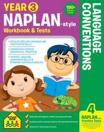School Zone: Naplan-Style Workbook: Year 3 Language Conventions