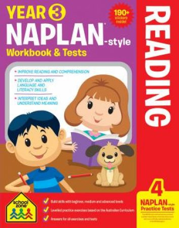 School Zone: Naplan-Style Workbook: Year 3 Reading