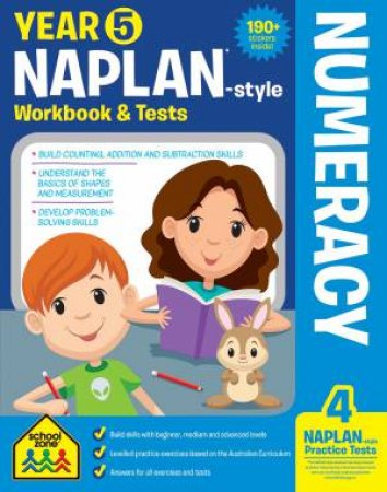School Zone: Naplan-Style Workbook: Year 5 Numeracy