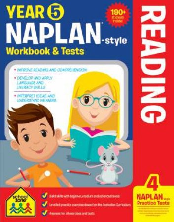 School Zone: Naplan-Style Workbook: Year 5 Reading
