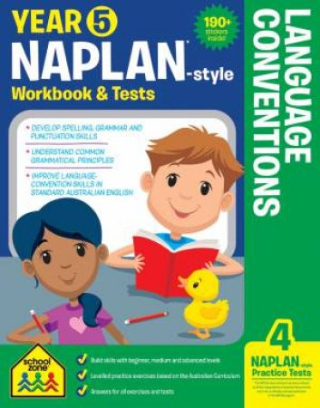 School Zone: Naplan-Style Workbook: Year 5 Language Conventions