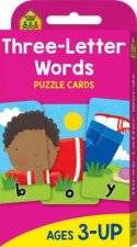 School Zone Flash Cards 3 Letter Words