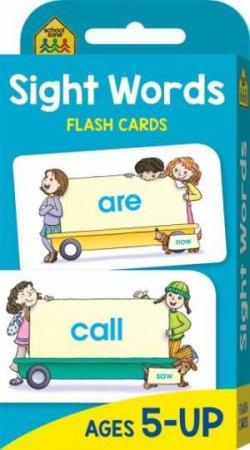 School Zone: Flash Cards: Beginning Sight Words