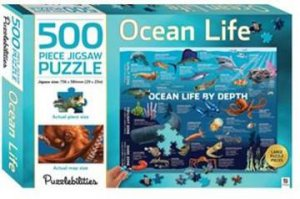 Puzzlebilities 500 Piece Jigsaw Puzzle: Ocean Life by Various
