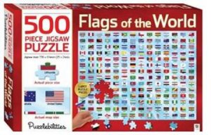 Puzzlebilities 500 Piece Jigsaw Puzzle: Flags of The World