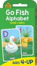 School Zone Flash Cards Go Fish Alphabet Game