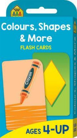 School Zone Flash Cards: Colours, Shapes and More