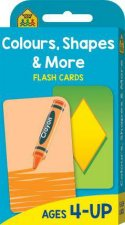School Zone Flash Cards Colours Shapes and More