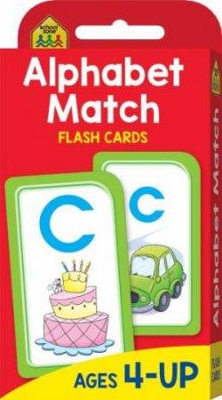 School Zone: Flash Cards: Alphabet Match