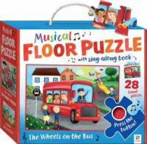 Musical Floor Puzzle: Wheels On The Bus