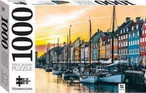 Mindbogglers 1000 Piece Jigsaw: Nyhavn, Copenhagen, Denmark