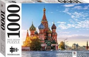 Mindbogglers 1000 Piece Jigsaw: St Basils Catherdal, Russia