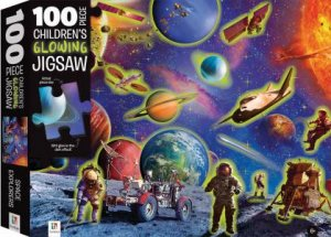 100 Piece Children's Glowing Jigsaw: Space by Various