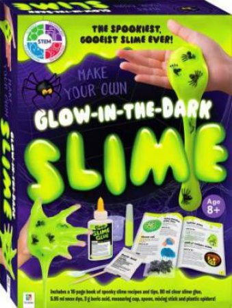 Mark Your Own Glow-In-The-Dark Slime