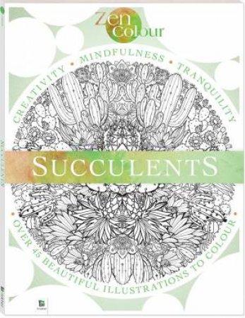 Zen Colouring: Succulents