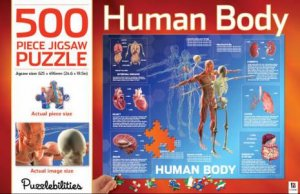Puzzlebilities 500 Piece Jigsaw Puzzle: The Human Body