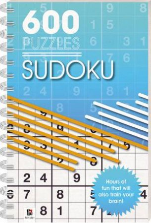 600 Puzzles: Sudoku by Various