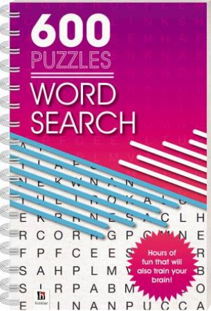 600 Puzzles: Word Search