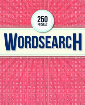 250 Puzzles: Wordsearch by Hinkler Books