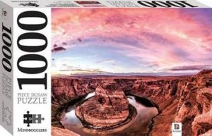 Mindbogglers 1000 Piece Jigsaw: Horseshoe Bend, Arivona, USA