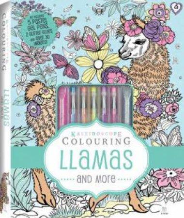 Kaleidoscope Colouring Kit: Llamas And More