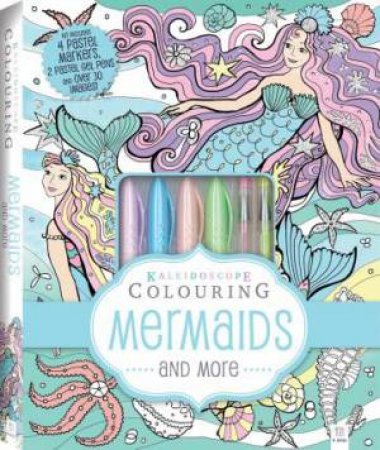 Kaleidoscope Colouring Kit: Mermaids And More by Various