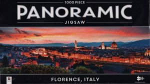 Panoramic 1000 Piece Jigsaw: Florence, Italy