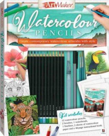 Art Maker Watercolour Pencils by Paul Konye & Kate Ashforth & Hinkler Books Hinkler Books