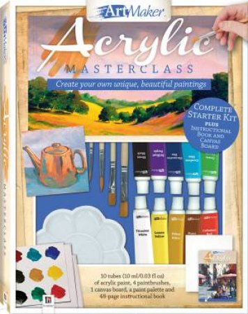 Art Maker Acrylic Paints by Various