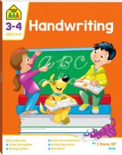 School Zone I Know It Deluxe Workbook Handwriting 8
