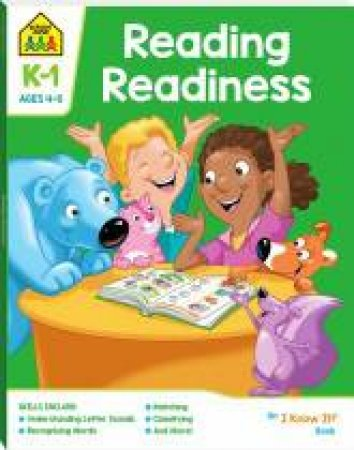 School Zone: I Know It Deluxe Workbook: Reading Readiness (4+)