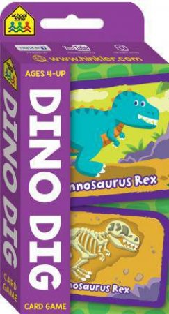 School Zone Flash Cards: Dino Dig Game