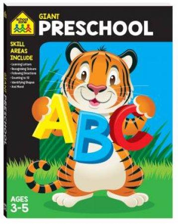 School Zone Giant Workbooks: Preschool