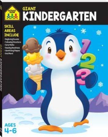 School Zone Giant Workbooks: Kindergarten