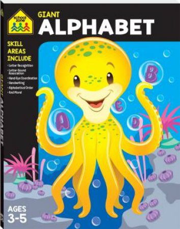 School Zone Giant Workbooks: Alphabet