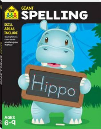 School Zone Giant Workbooks: Spelling