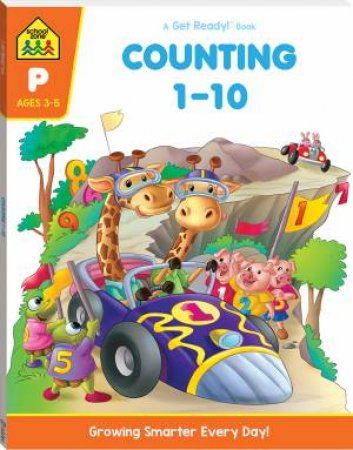 School Zone: Get Ready Deluxe Workbook: Counting 1-10