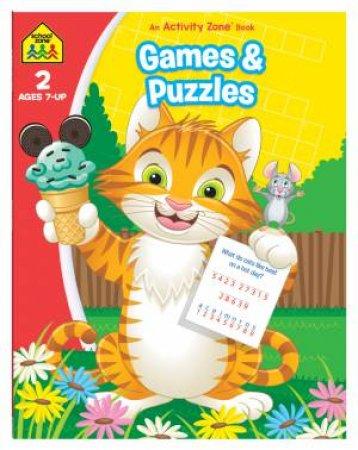 School Zone: Activity Zone Workbook: Games & Puzzles