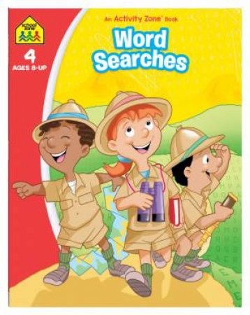 School Zone: Activity Zone: Word Searches