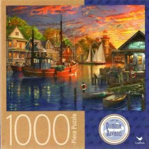 Cardinal 1000 Piece Jigsaw: New Harbour