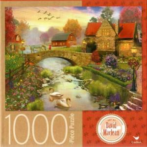 Cardinal 1000 Piece Jigsaw: Homestead