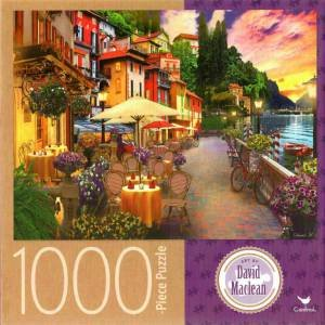 Cardinal 1000 Piece Jigsaw: Lake Como