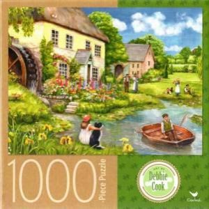 Cardinal 1000 Piece Jigsaw: Mill Cottage