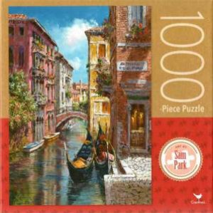 Cardinal 1000 Piece Jigsaw: Gondolas On The Canal