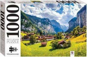 Mindbogglers 1000 Piece Jigsaw: Lauterbrunnen, Switzerland