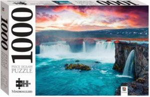 Mindbogglers 1000 Piece Jigsaw: Godafoss Waterfall, Iceland by Various