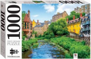 Mindbogglers 1000 Piece Jigsaw: Edinburgh, Scotland