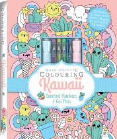 Kaleidoscope Colouring Kit: Kawaii