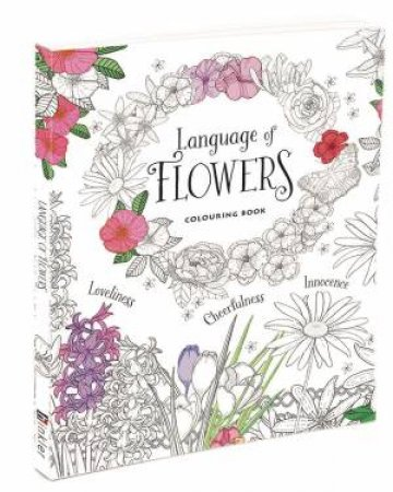 Language of Flowers Colouring Book